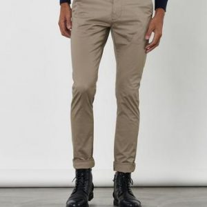 Dr.Denim Chinos Heywood Chino Brun