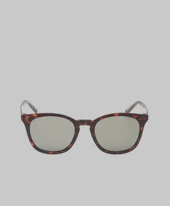 Le Specs Solglasögon Fine Specimen Matte Tort / Khaki Mono Lens Brun