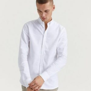 Les Deux Skjorta Christoph Oxford Shirt Vit