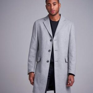 Studio Total Rock Lambton Wool Coat Grå