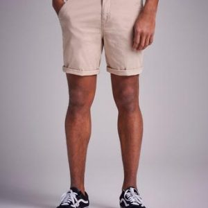 Studio Total Slim Shorts Beige