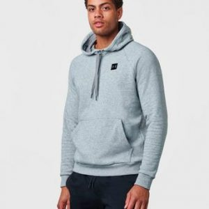 Under Armour Hoodie Rival Fleece PO Hoody Grå