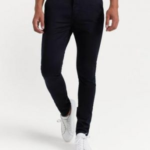 William Baxter Chinos Zack Slim Chinos Svart