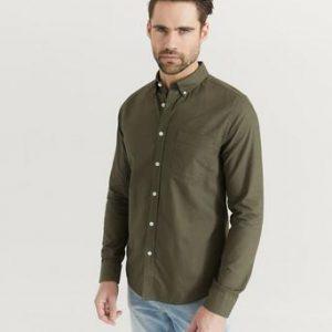 Studio Total Skjorta Melker Oxford Shirt Grön