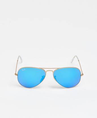 Ray-Ban Solglasögon Aviator Gold/Blue Guld