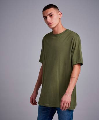 William Baxter T-shirt Relaxed Tee II Grön