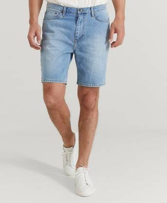 Studio Total Jeansshorts Clean Denim Shorts Blå