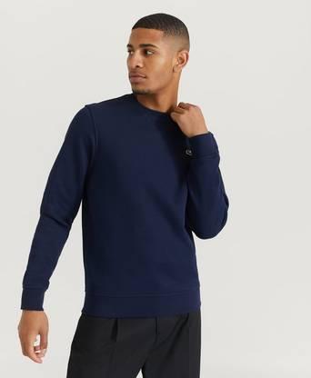 Lacoste Sweatshirt Classic Sweat Blå