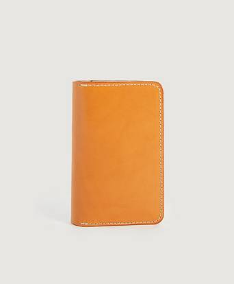 Red Wing Shoes Passfodral Passport Wallet Brun