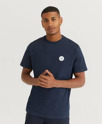 Woodbird T-Shirt Our Jarvis Patch Tee Blå