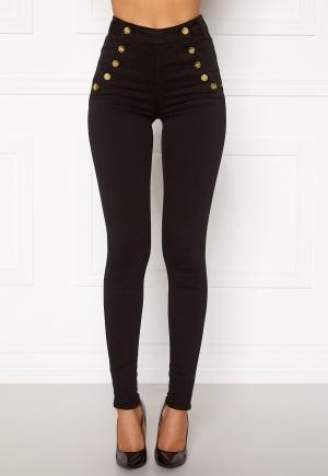 BUBBLEROOM Adina highwaist jeans Black 36