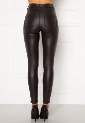 BUBBLEROOM Bianca coated jeans Black 34