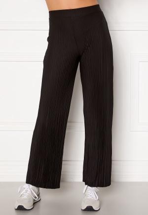 BUBBLEROOM Lola pleated trousers Black S