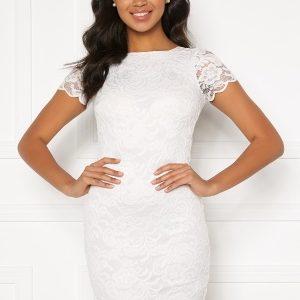 BUBBLEROOM Marjo lace dress White XS