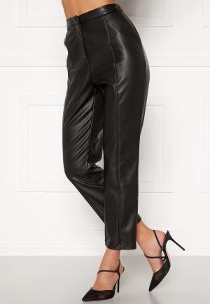 BUBBLEROOM Mina PU trousers Black 36