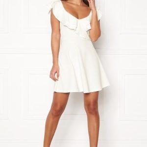 BUBBLEROOM Sanna flounce dress White XL