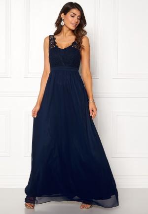 Chiara Forthi Daisy gown Dark blue 40