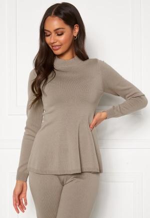 Happy Holly Henrietta Turtleneck sweater Light mole 52/54
