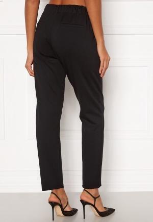 Happy Holly Mathilda high waist tricot pants Black 48/50
