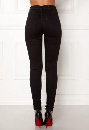 LEVI'S Milehigh Superskinny Jeans 0052 Black Galaxy 30/32