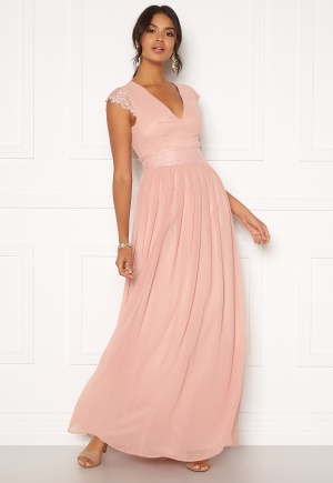 Moments New York Athena Chiffon Gown Dusty pink 34