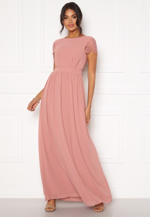 Moments New York Camellia Chiffon Gown Dark old rose 34