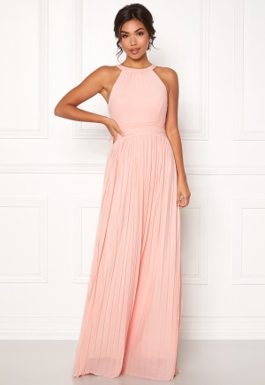 Moments New York Linnea Pleated Gown Light pink 36
