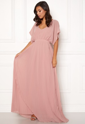 Moments New York Violet Chiffon Gown Dusty pink 34