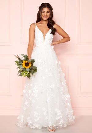Nicole Falciani X Bubbleroom Nicole Falciani Wedding Skirt White 40