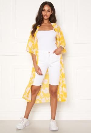 OBJECT Marina MW Twill Shorts Gardenia S