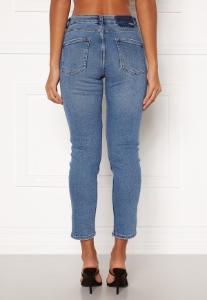 ONLY Erica Life Mid ST Ankle Jeans Light Blue Denim XL/30