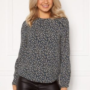 ONLY New Mallory L/S Blouse Night Sky/A.D Flower 40
