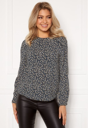 ONLY New Mallory L/S Blouse Night Sky/A.D Flower 34