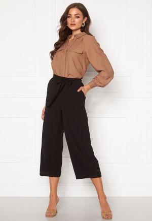 Pieces Kellie HW Culotte Pant Black XL