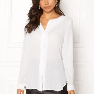VILA Lucy L/S Shirt Snow white L