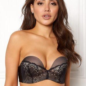 Wonderbra Glamour Perfect Strapless Bra Black 85B