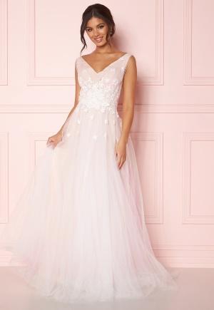Zetterberg Couture Stella Dress Ivory/Nude 38