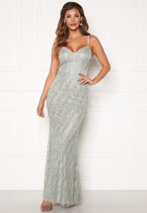 Chiara Forthi Diamond gown Silver grey 40