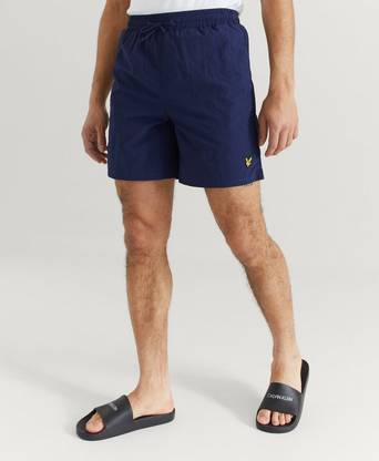 Lyle & Scott Badshorts Plain Swim Short Blå