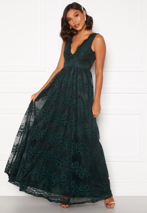 Moments New York Ella Lace Gown Dark green 34