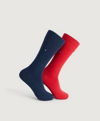 Tommy Hilfiger 2-Pack Strumpor TH Men Sock Classic 2P Röd