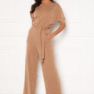 AX Paris Knitted Jumpsuit Camel M/L