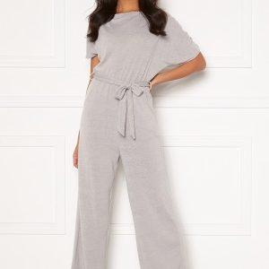 AX Paris Knitted Jumpsuit Grey M/L