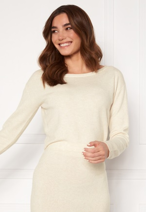 Guess Tanya Boat Neck Pullover F33 Oatmeal Heather L