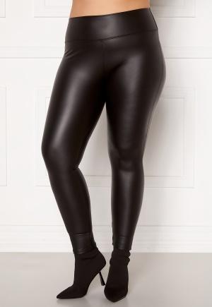 John Zack PU Curve Legging Black 46 (UK18)