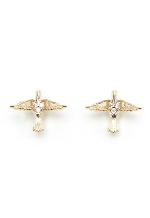 LILY AND ROSE Miss Eden Earrings Gold One size