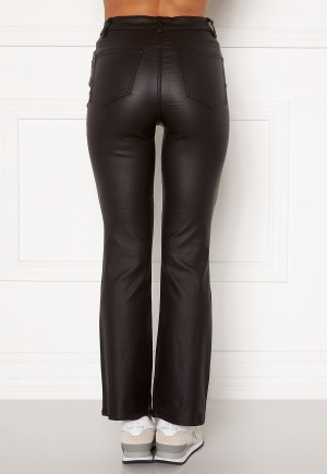 OBJECT Belle 7/8 Coated Flared Pant Black M