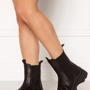 SELECTED FEMME Lucy Leather Chelsea Boot Black 37