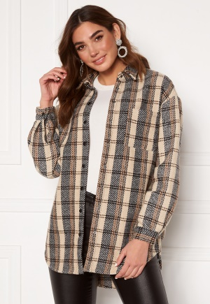 Sisters Point Ellie Shirt 840 Sand/Check XS