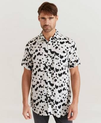 The People Vs. Kortärmad Skjorta Stevie Shirt Vit